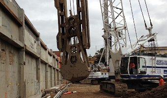 Diaphragm Wall Grabs & Cutters